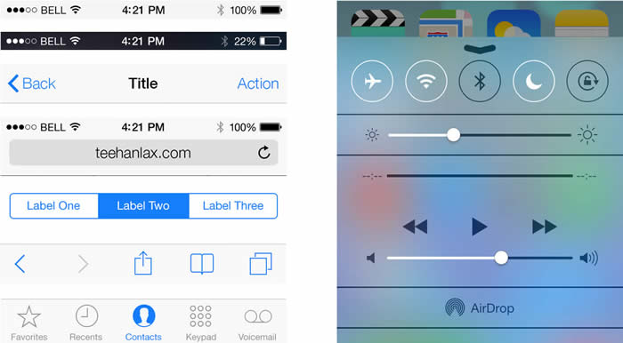 Colores en iOS