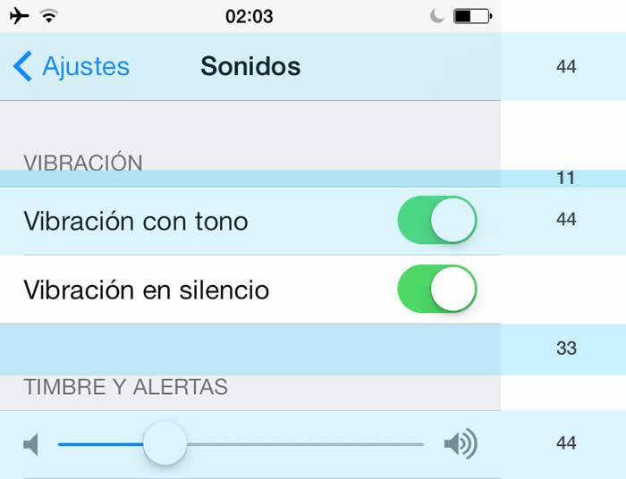 Retícula en iOS
