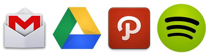 Estilo de íconos de lanzamiento en Android