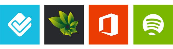 Estilo de íconos de lanzamiento en Windows Phone